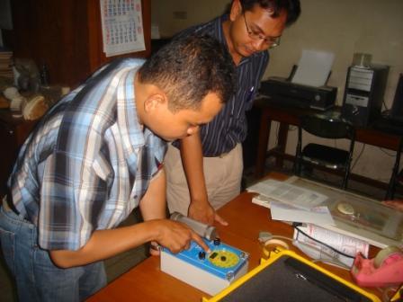 Scintilation Counter ITB2